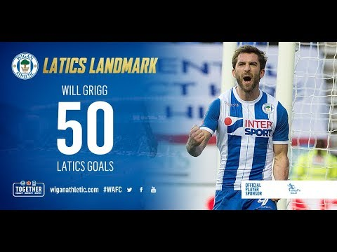 All 50 of Will Grigg's Wigan Athletic Goals