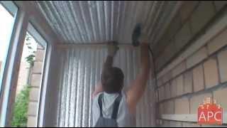 Утепление балкона и лоджии пеноплексом своими руками: видео инструкция