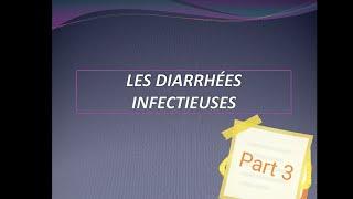 Diarrhées infectieuses part 3 le traitement
