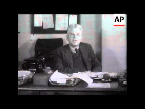 SCIENTIST'S VIEW - PROF. OLIPHANT - Interview with the professor about Atomic Power