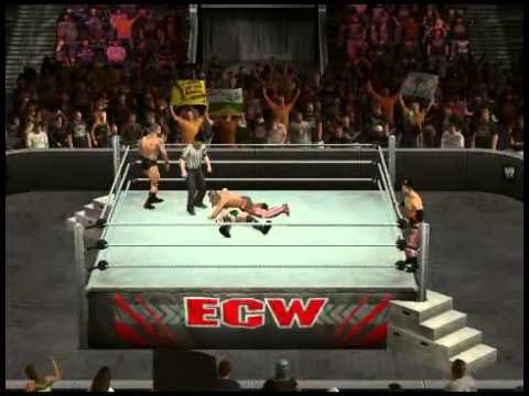 WWE SVR 10 Sweet Chin Music @ RKO To Sheamus !!!!