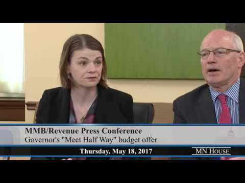 Minnesota Management and Budget/Department of Revenue Briefing  5/18/17