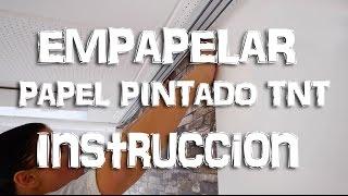 EMPAPELAR PAPEL PINTADO TNT | Instrucción | WALLCOVER España