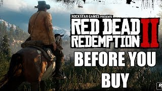 Red Dead Redemption 2 – 10 More New Things You Need To Know Before You Buy