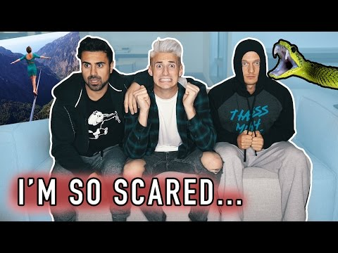 Thumbnail: FACING OUR BIGGEST FEARS! THIS was in his BACKYARD... (Scary)