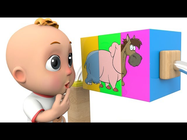 Learn Animals for Kids with Little Baby Playing Education Toys - Surprise Toys for Children