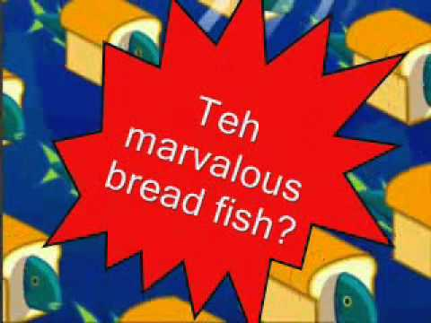 The marvelous bread fish lyrics youtube for How to bread fish