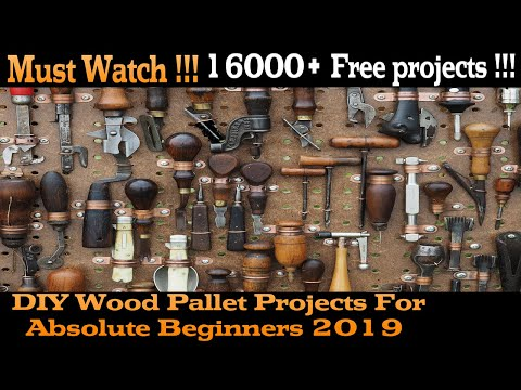 Awesome DIY Wood Pallet Projects For Absolute Beginners 2019