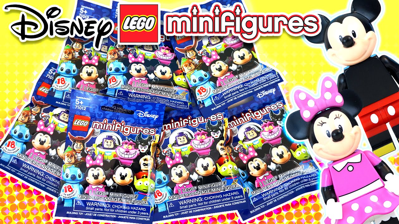 Disney Lego Surprise Blind Bags With Minifigures Heroes