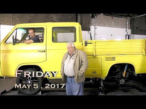 EVTV Friday Show - Tesla Powered Vanagon - First Wheel Spin.