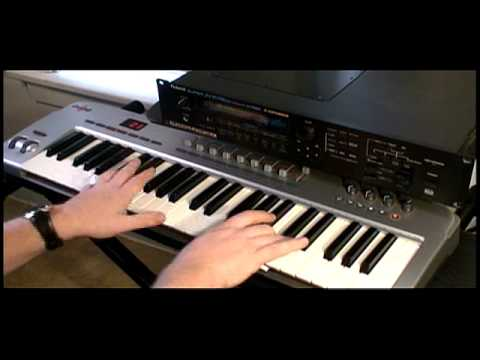keybdwizrd - Roland JV-1080 Demo #1
