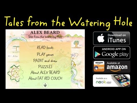 tales-from-the-watering-hole---interactive-storybook-app-with-games,-painting,-and-puzzles---trailer