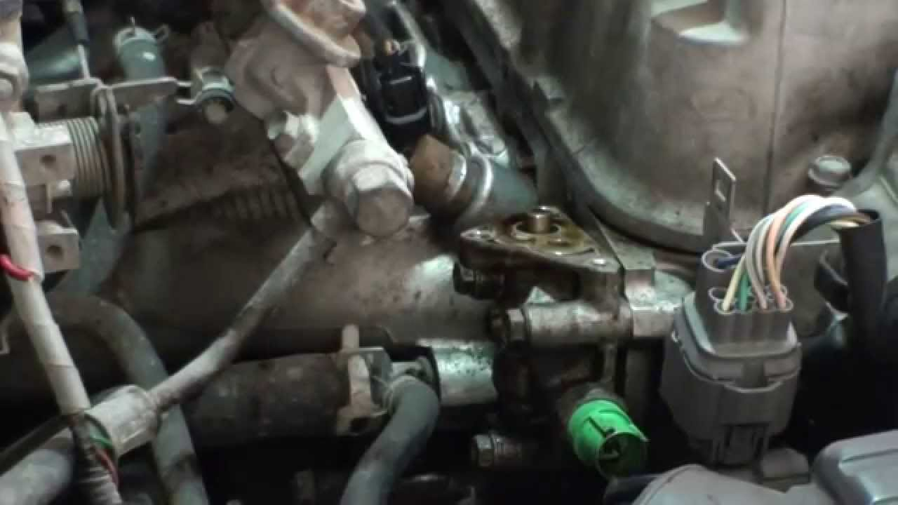 honda civic ex vtec solenoid gasket replacement   oil leak