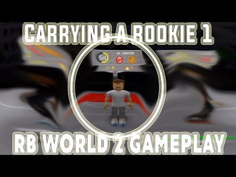 CARRYING A ROOKIE 1 IN PARK! (RBW2 Gameplay)
