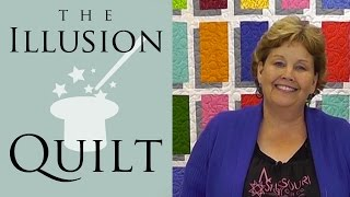 Illusion Block Quilt - Easy Quilting Tutorial from Jenny Doan & Missouri Star