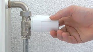 Heatapp! Drive thermostaatknop monteren
