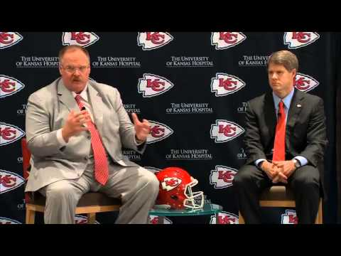 Andy Reid Introduced As Kansas City Chiefs Head Coach 1/7/13
