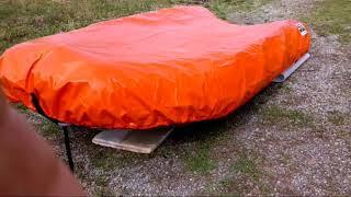 Обзор лодки РИБ VOYAGE 370 B + транспортировочный тент.