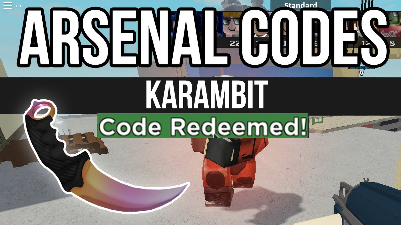 All Arsenal Codes June 2020 Roblox Youtube