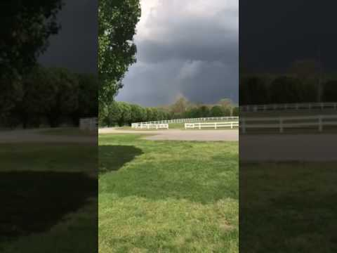 Possible Tornado Touches Down in Shelbyville, Tennessee