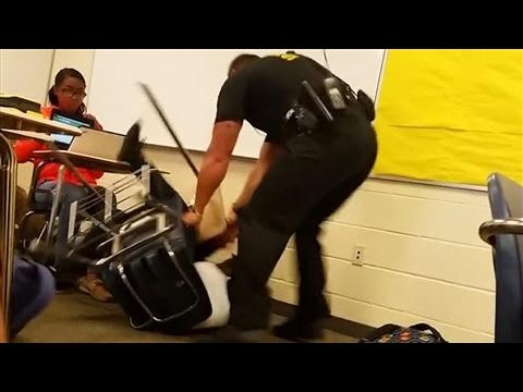 Police Officer Slams S.C. High School Student to the Ground