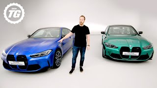 FIRST LOOK: New 2020 BMW M3 & M4 feat. 4WD, 503bhp, 'Drift' Mode & *THAT* Grille   Top Gear