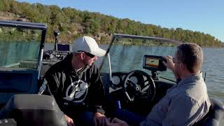 Lowrance Hook2 Sonar on the water