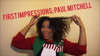 first impressions paul mitchell curls full circle leave in twist curl definer on natural hair