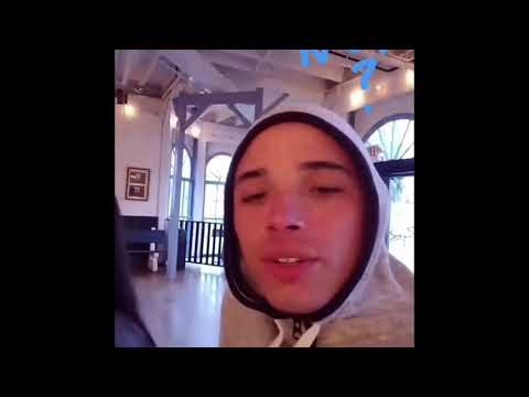 Anthony Ramos being adorable
