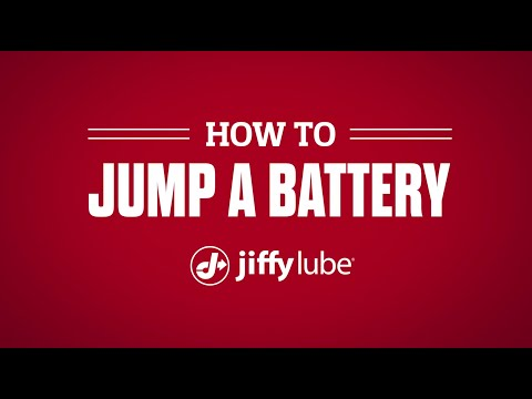 How to Jump a Car Battery, presented by Jiffy Lube