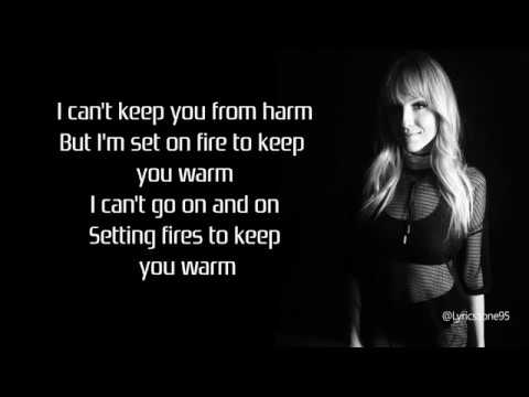 The Chainsmokers : Setting Fires - Lyrics ft. XYLØ
