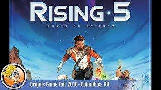 Rising 5 — game preview at Origins 2018