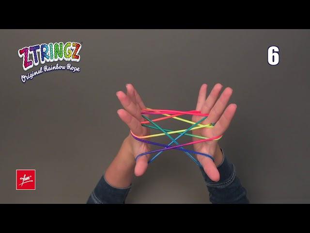 Ztringz Academy: Figure Fishnet - Visnet - Fischernetz - Rete da pesca 01