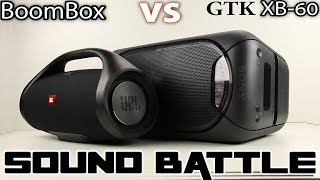 JBL Boombox vs Sony GTK XB-60 : Sound Battle