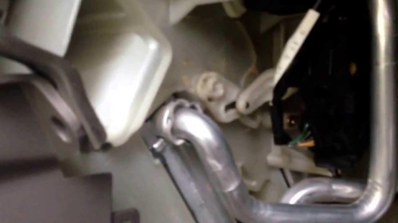 small resolution of 2001 lexus rx300 heater wont blow hot faulty mixer door servo motor car forensics youtube