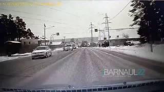 Поворот на Кутузова с объездной, Барнаул