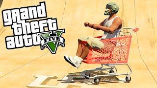 "GTA 5 ""Fun Véhicules"" ( Chariot,Toilette, Sofa ... ) - GTA 5 Gameplay"
