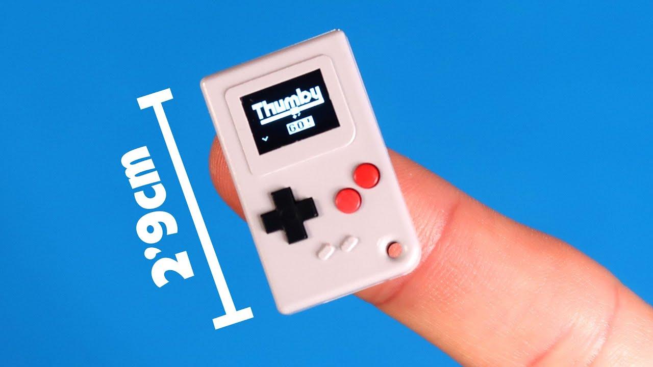 la Game Boy más pequeña del mundo (incluye 5 juegos)