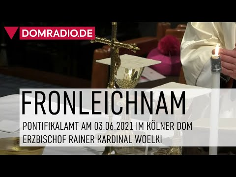 Pontifikalamt an Fronleichnam