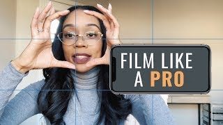 How to Film Like a PRO with your Phone ONLY   Budget-Friendly Professional Quality Video