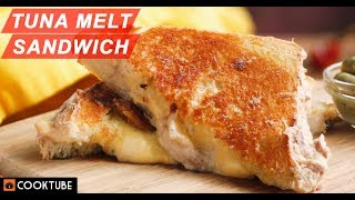 Tuna Melt Sandwich Recipe | Tuna Grilled Cheese Sandwich | Best Tuna Sandwich Recipe
