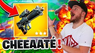 THE GRENADE LANCE OF PROXIMITÉ IS TROP CHEATÉ AND WE OFFER THE TOP 1 ON FORTNITE !!!