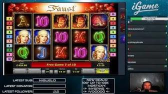 Faust slot TOP symbol pays big!
