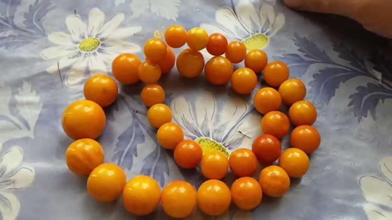 БУСЫ из ЯНТАРЯ купить - 2018 / Buy Beads of amber - YouTube