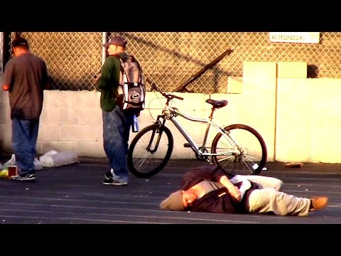 Killing Homeless People Experiment