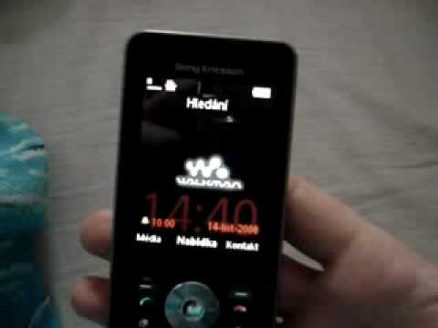 Confused Sony Ericsson w910i