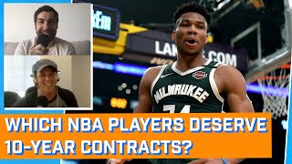 Does Giannis Antetokounmpo Deserve a 10-year, $1 Billion Contract? | The Mismatch | The Ringer
