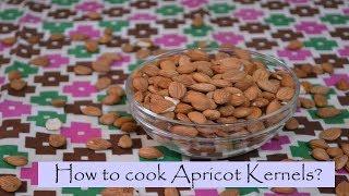 Hani&#39e Chamik  Apricot kernel Sauce  How to cook Apricot Kernels