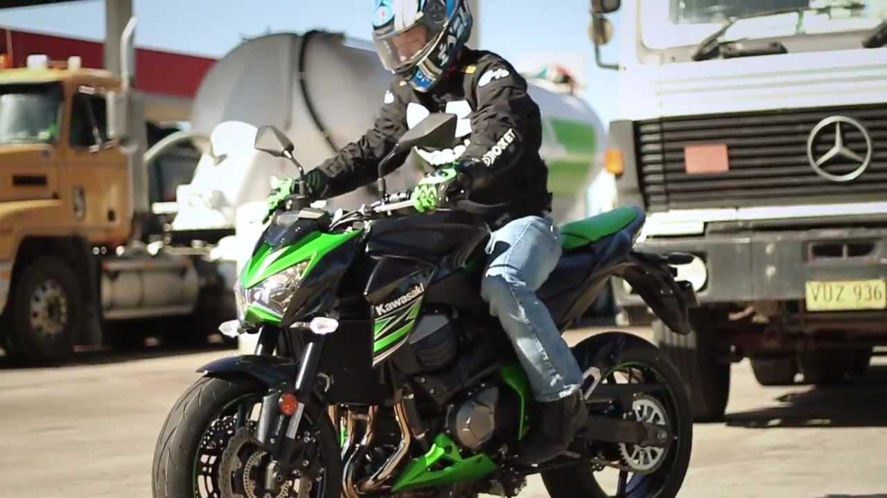 Kawasaki Z800 Official Video Australia
