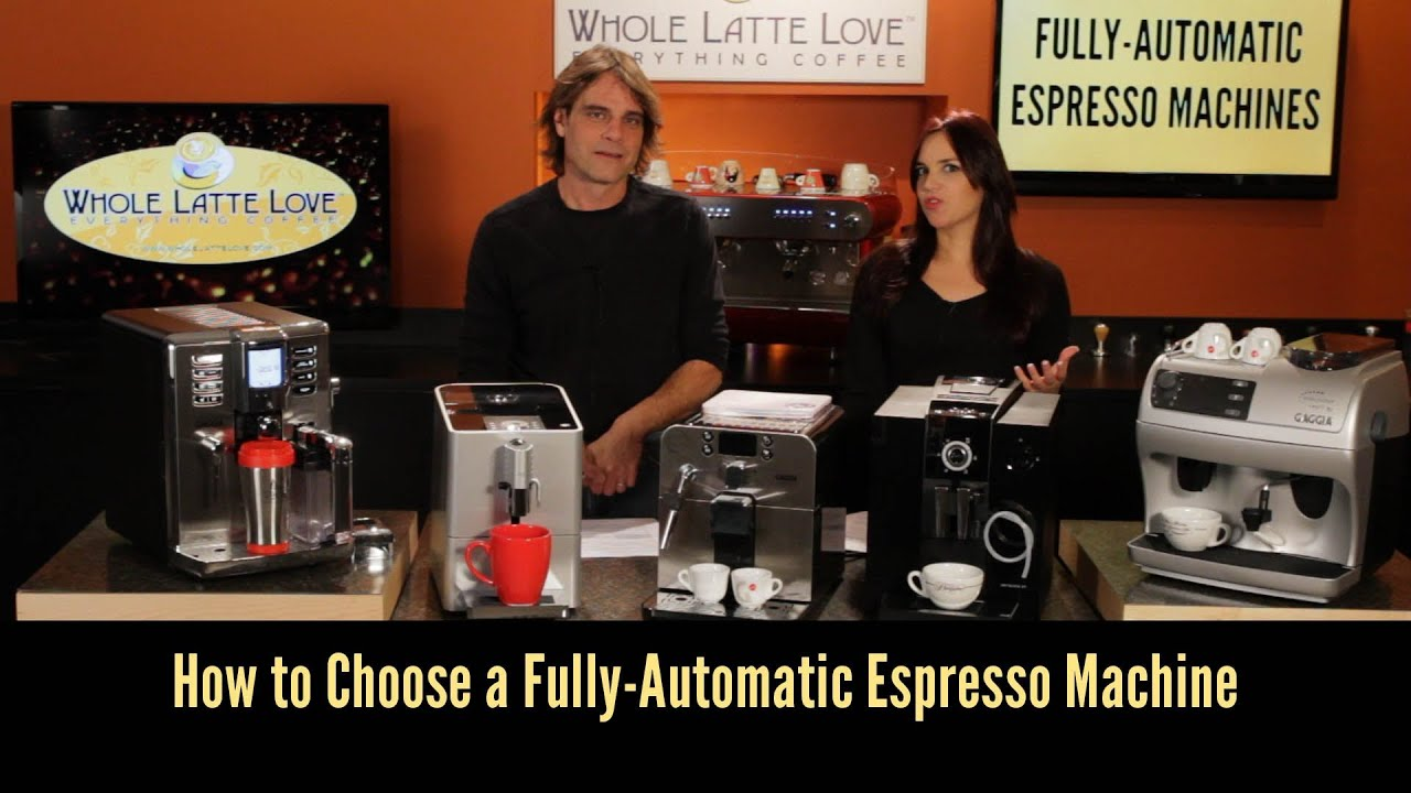 How To Choose a Fully Automatic Espresso Machine ...